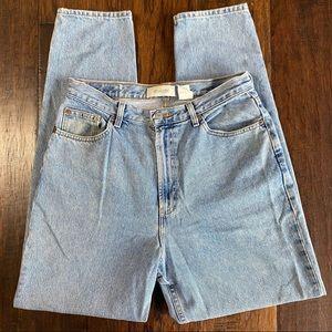 GAP Reverse Fit Hi Rise Mom Jeans, Wedgie Vintage